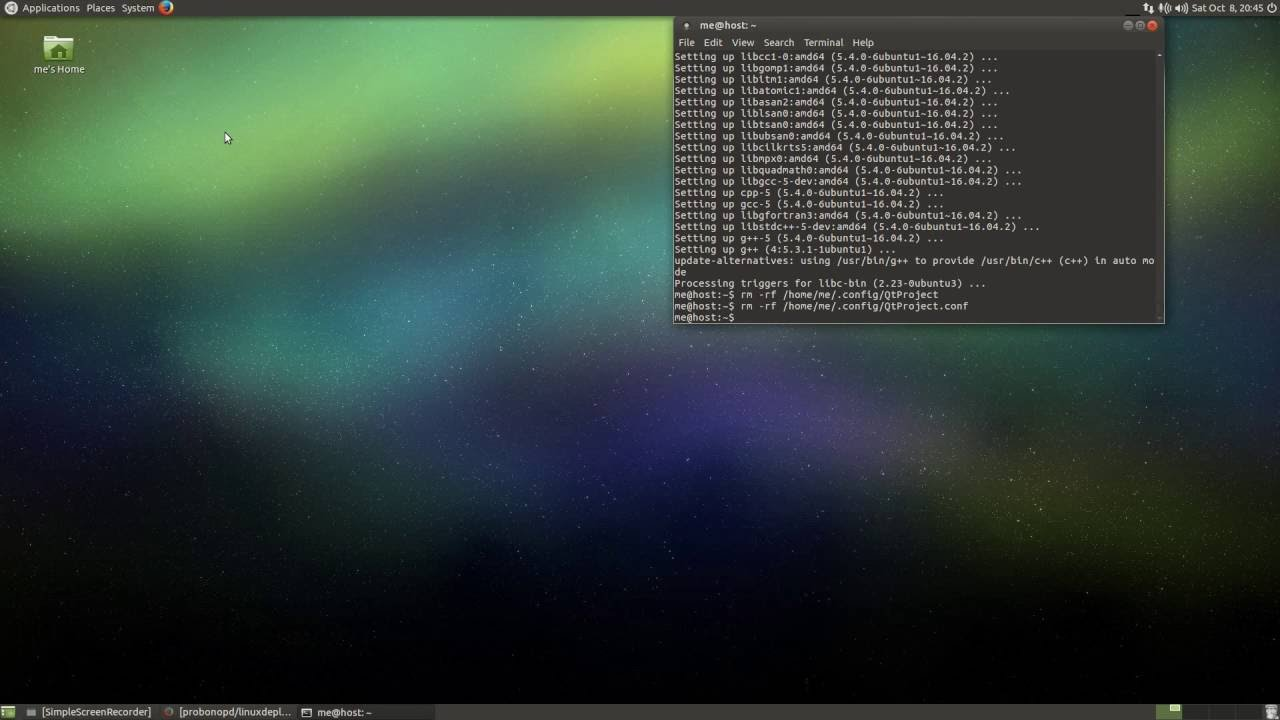 Using Qt Creator and linuxdeployqt to deploy a Qt app for Linux