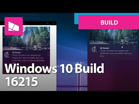 Windows 10 Build 16215 - Start, Action Center, Edge, Settings, Keyboard + MORE