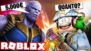 WHAT THE MORE OF THANOS!! - ROBLOX