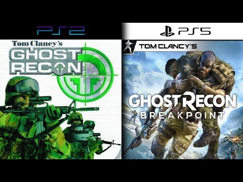 Evolution of Ghost Recon Games 2001-2019