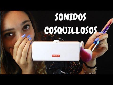 ASMR esp 🌞 SONIDOS PARA RELAJARTE !! Brushing Camera, Mic