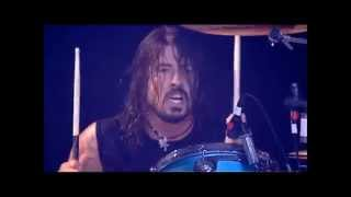 Dave Grohl - Drums - Live at Reading Festival 2009