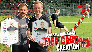 WHO WILL HAVE A BETTER FIFA CARD? [FOOTBALL CHALLENGE]
