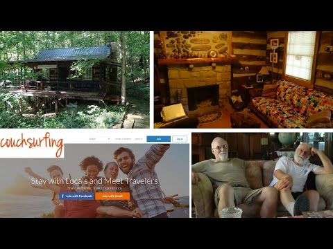 Lodging in the Hills: Visiting Larry and Will's Couchsurfing Cabin