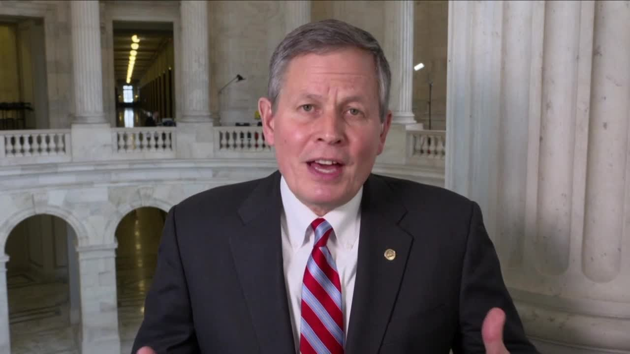 Senator Daines received first round of COVID vaccine – KPAX-TV