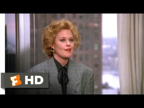 Working Girl (5/5) Movie CLIP - Tess's New Job...