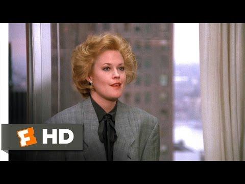 Working Girl 55 Movie   Tess's New Job 1988 HD