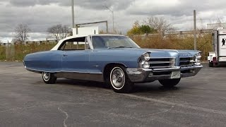 1965 Pontiac Bonneville Convertible in Blue & Engine Sound on My Car Story with Lou Costabile