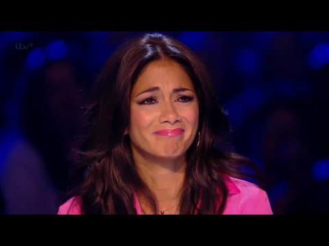 NICOLE SCHERZINGER IN TEARS! - Sam Bailey Incredible Audition - X Factor UK 2013