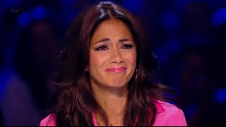 NICOLE SCHERZINGER IN TEARS! - Sam Bailey Incredible Audition - X Factor UK 2013
