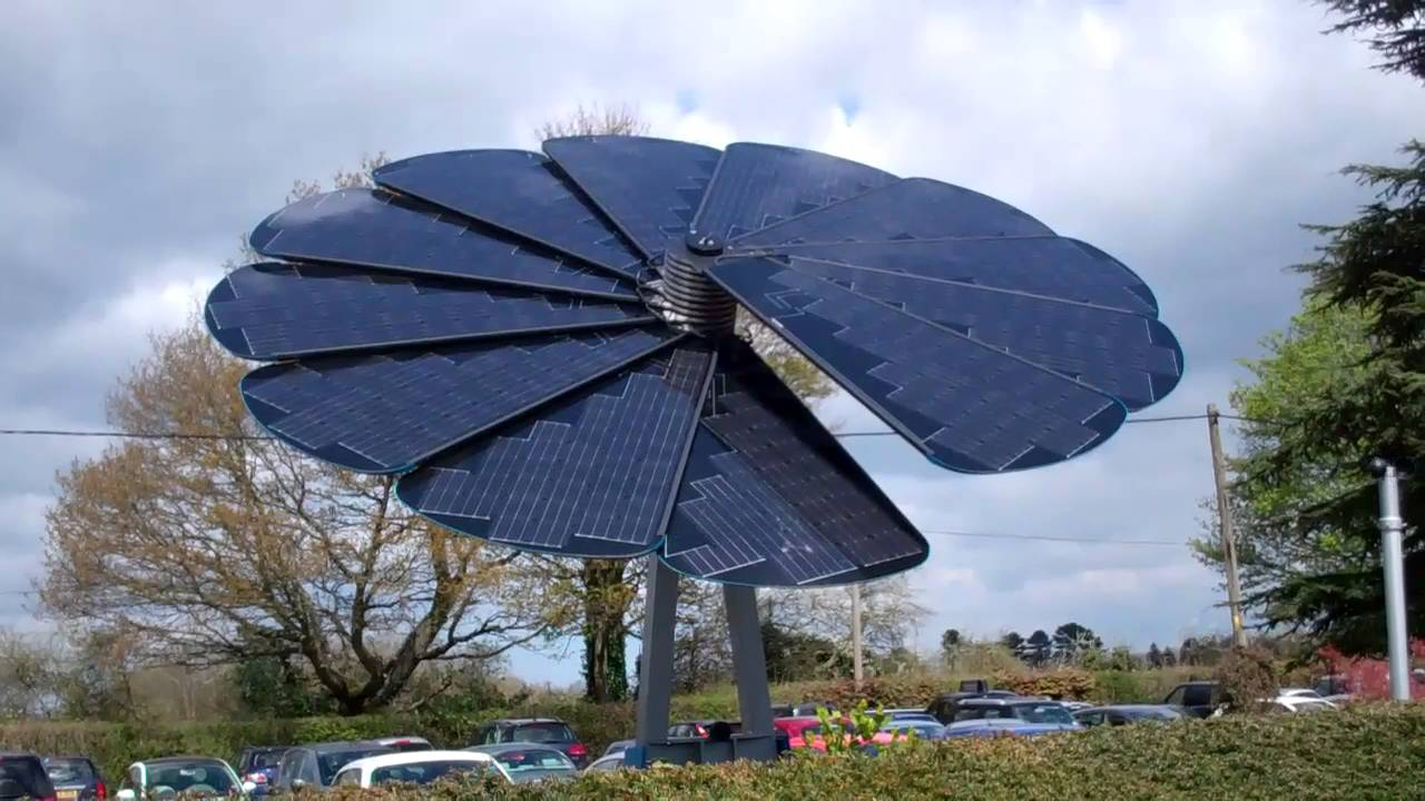 Smart Flower Solar Array Youtube