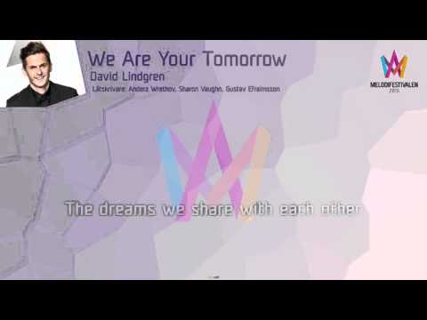 "David Lindgren - ""We Are Your Tomorrow"""