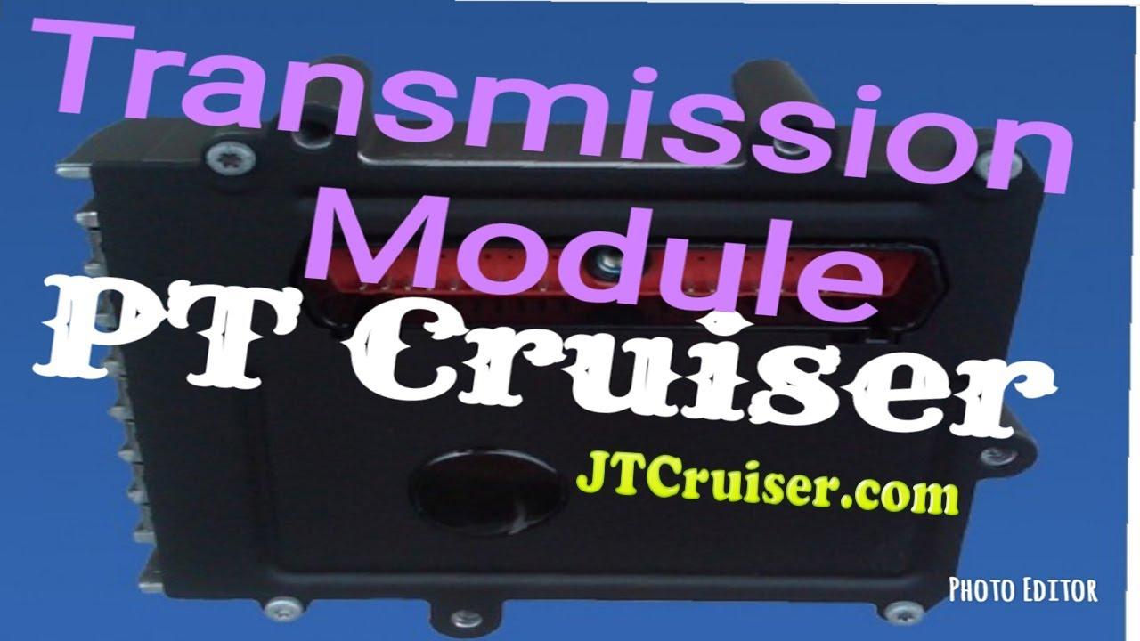 PT Cruiser Transmission Module TCM PCM, P0601 P0605 P0606