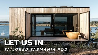 Tiny House Luxury w Huge Outdoor Bathtub & Unbelievable Views! 🙌🏠 Tailored Tasmania Pod Home Tour