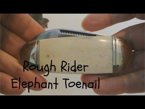 Rough Rider Elephant Toenail Knife
