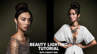 Glowy beauty photography lighting tutorial Shot With Canon EOS R