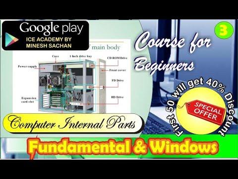 Computer Internal Parts || Computer Hardware Parts|| Computer Fundamental