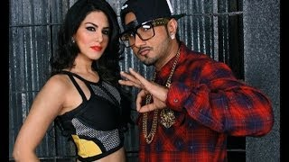 Yo Yo Honey Singh with Sunny Leone
