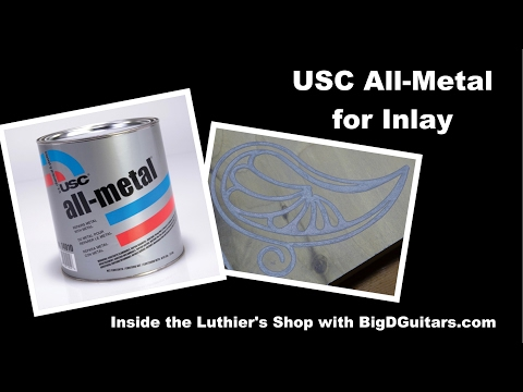 USC Metal Flake for inlay Luthier Guitar with BigDGuitars.com