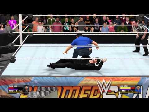 WWE 2K16 Tendou Souji vs CT