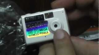 UNBOXING THE 5MP HD Smallest Mini DV Spy Digital Camera Video Recorder Camcorder Webcam DVR