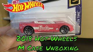 2018 Hot Wheels M Case