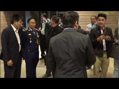 Hun Manet lead Delegates to visit Ministry of National Defense (France)