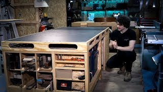Tour of the ULTIMATE Power Tool Workbench