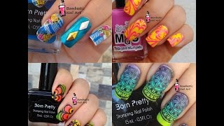 Stamping Nail Art Tutorial and Designs Compilation April 2017 | Bombastic Nail Art