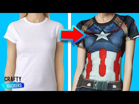 10 DIY COMIC BOOKS HACKS | MARVEL SUPER HEROES CRAFTS