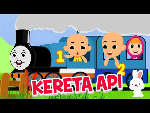 Gambar Kereta Versi Kartun Naik Kereta Api Versi Kartun Upin Ipin Thomas Masha Chuggington Serta Tayo Youtube
