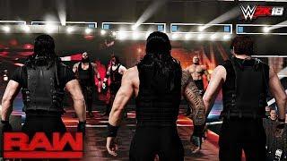 WWE 2K18 Custom Story - The Shield Destroys Everyone Raw 2017 ft. Brock Lesnar, John Cena - PART 6