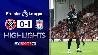 Henderson howler hands Liverpool win   Sheffield Utd 0-1 Liverpool   Premier League Highlights