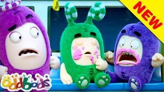 ODDBODS | Zees Sticky Food Trap | Cartoons For Children