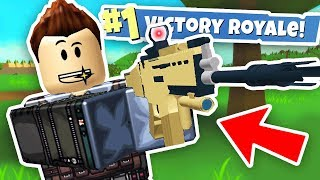 FORTNITE IN ROBLOX BATTLE ROYALE (Roblox Island Royale Funny Gameplay)