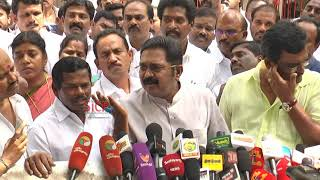 TTV Dinakaran Talk about TN MLAs' disqualification case verdict