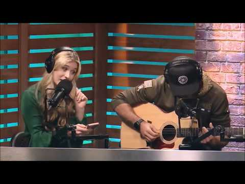 Harper Grace Sings Hey Zeus On NASH Radio with Chuck Wick on the Ty, Kelly & Chuck show