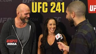 Jodie Esquibel, Keith Jardine hoping spirit of UFC 76 pays off again | UFC 241 | ESPN MMA