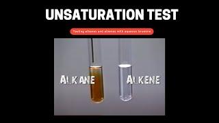 Alkane & Alkene plus Bromine
