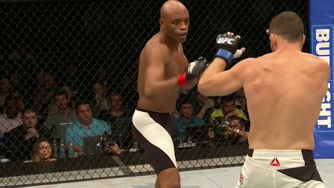 Anderson Silva uses Wing Chun & Jeet Kune Do in UFC Fight