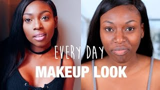 SIMPLE EVERY DAY MAKEUP LOOK | RIMMEL , LA GIRL PRO, COLOUR POP & MORE AD