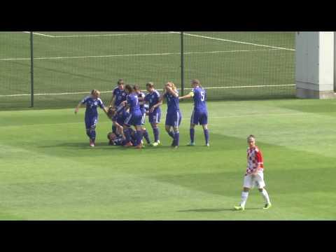UEFA RAZVOJNI TURNIR ZA JUNIORKE U19 Bosna i Hercegovina vs Hrvatska 27082016