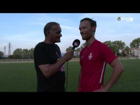 Interview de Cyrille NOYER - Milieu de terrain de l'Olympique de Valence