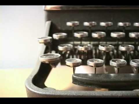 typewriter mp4
