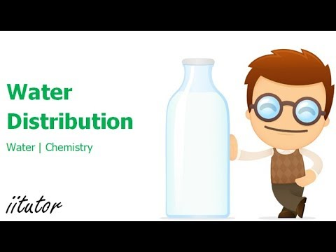 √ Water Distribution - Solute Solvent Solutions - Water - Preliminary Chemistry - Chemistry Tutor