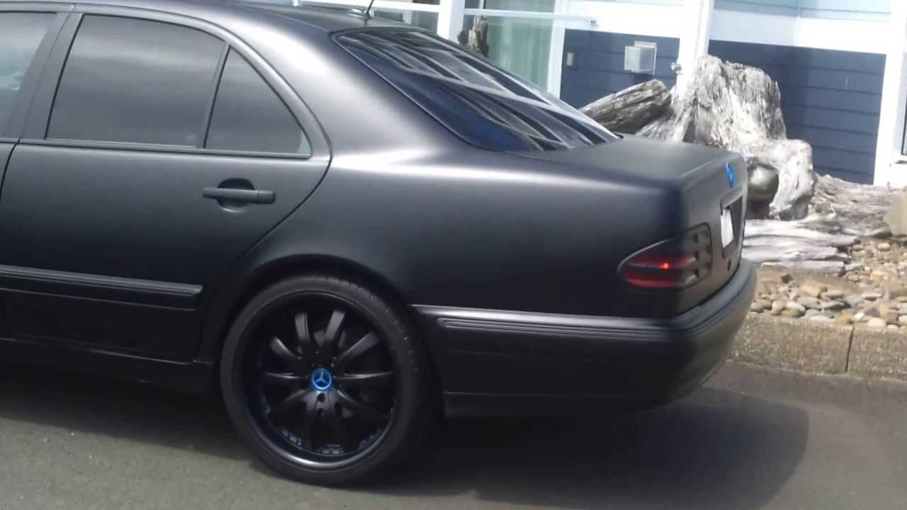Flatblack Mercedes Benz Youtube