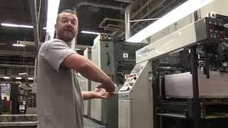 The Komori Printing Press