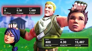 every DEFAULT SKIN i KILL i show their stats... (really bad)