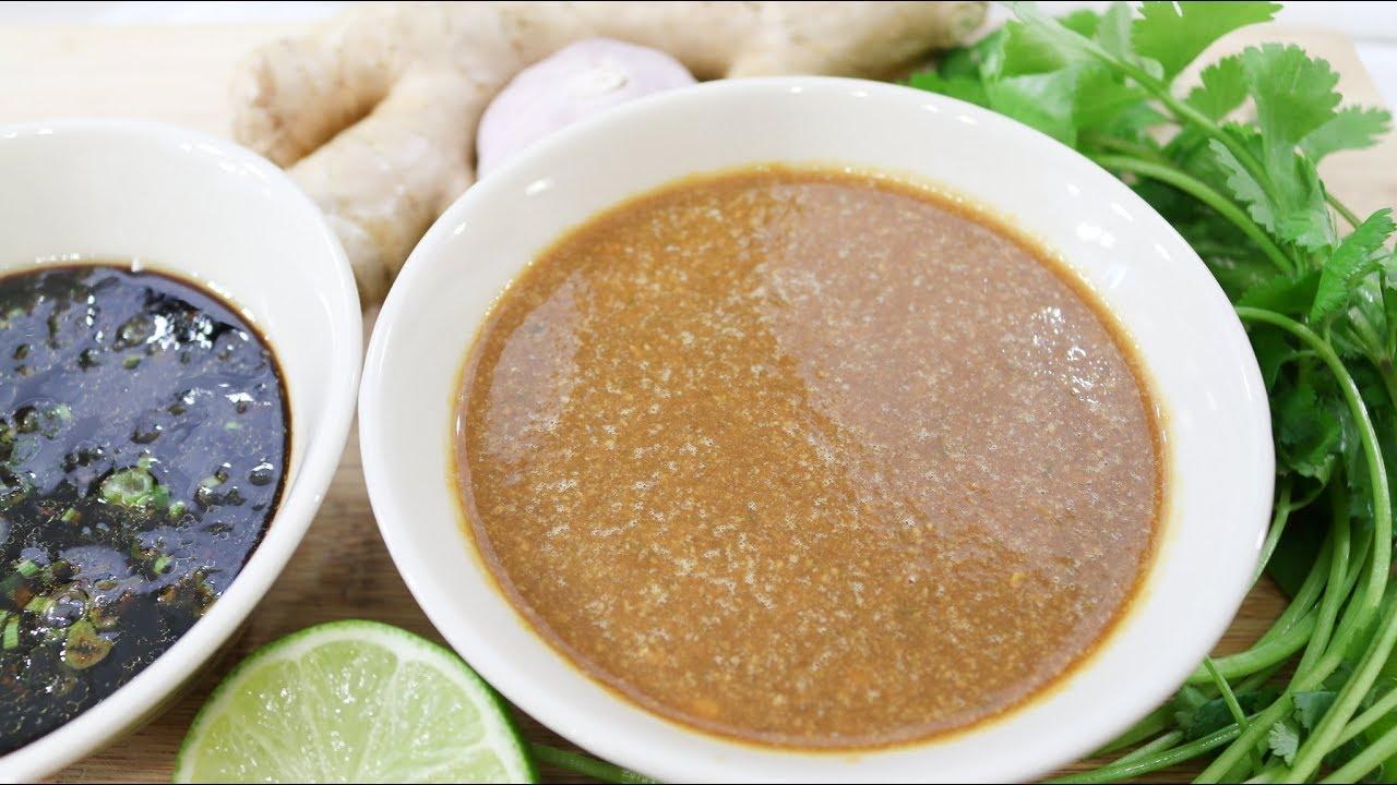 Thai Style Hainanese Chicken Rice Sauce (Khao Mon Gai Sauce)  น้ำจิ้มข้าวมันไก่ - Episode 201 - YouTube