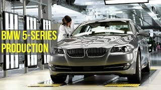 BMW 5-Series F10 Production